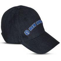 Baseballcap, Öko-Denim, blau