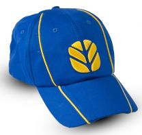 Baseballcap, blau-gelb