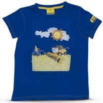 T-Shirt mit Mähdrescher